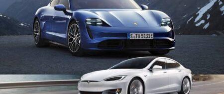 CAR COMPARISON: PORSCHE TAYCAN vs TESLA MODEL S