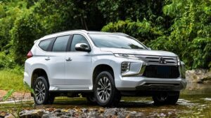 THE NEW OFF-ROADER PAJERO SPORT IS