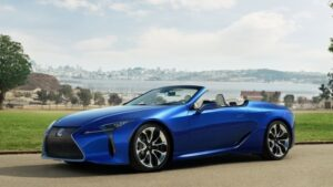 LEXUS LC 500 NEW LUXURY SPORTS CAR IS