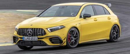 MERCEDES-BENZ A45 AMG ONE OF THE HOTTEST HATCHBACKS IN AUSTRALIA