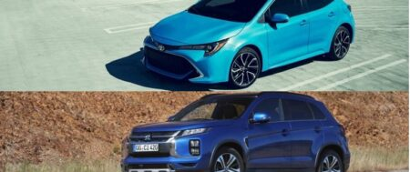 THE TWO BEST SELLING VEHICLES MITSUBISHI ASX AND TOYOTA COROLLA