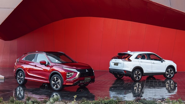THE NEW MITSUBISHI ECLIPSE CROSS WITH MAJOR UPGRADES