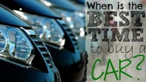 When Is The Best Time to Buy A New Car